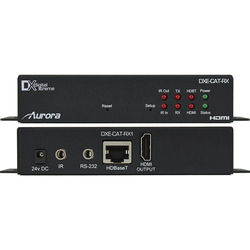 Aurora Multimedia Full HD/4K HDMI over CatX Extender with Bidirectional RS-232, & IR (330')