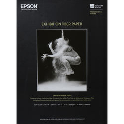"Epson Exhibition Fiber Paper (13 x 19"", 25 Sheets)"