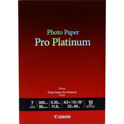 """Canon Pro Platinum Photo Paper 13 x 19"""" (10 Sheets)"""