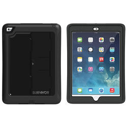 Griffin Technology Survivor Slim Case for iPad Air 2 (Black/Clear)