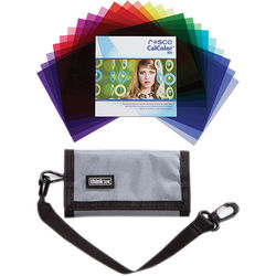 "Rosco CalColor Flash Pack Kit with Gel Wallet (1.5 x 5.5"")"