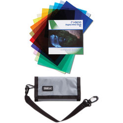 "Rosco Digital After Dark Flash Pack Kit with Gel Wallet (1.5 x 5.5"")"
