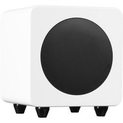 """Kanto Living sub6 100W 6"""" Active Subwoofer (Gloss White)"""