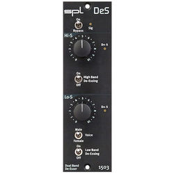 SPL DeS 500 Series Dual Band De-Esser Module