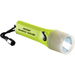 Pelican StealthLite 2410PL Flashlight (Yellow with Photoluminescent Shroud)