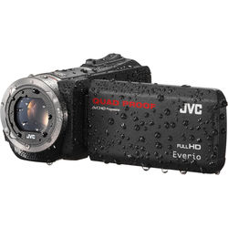 JVC GZ-R315BEU Quad-Proof HD Camcorder (PAL, Black)