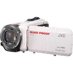 JVC GZ-R315WEU Quad-Proof HD Camcorder (PAL, White)