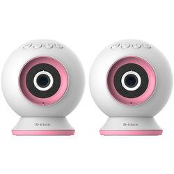 D-Link 2x 720p Day/Night Wi-Fi Baby Camera Kit