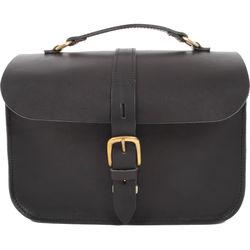 26b6162a0b Figbags The Lincoln Leather Bag (Black)