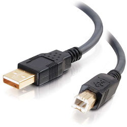 C2G 16.4' (5 m) Ultima USB 2.0 A/B Cable (Black)
