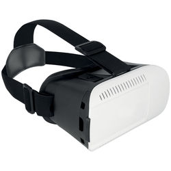 iCandy 3D Virtual Reality Goggles Plus Smartphone Headset (White)