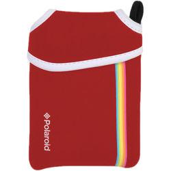 Polaroid ZIP Instant Digital Camera Neoprene Pouch (Red)