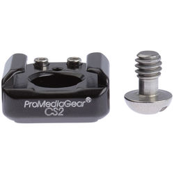 "ProMediaGear 1/4""-20 Screw to Cold Shoe Adapter (2-Pack)"