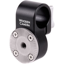 Wooden Camera 19mm Rod Clamp with Arri Rosette