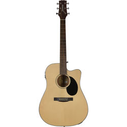 JASMINE JD-36CE Dreadnought Acoustic/Electric Guitar (Natural)