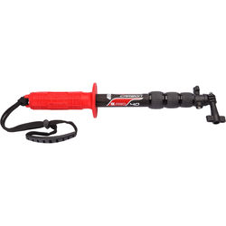 """Underwater Kinetics Carbon Pole 40 (14 to 40"""", Atomic Red)"""