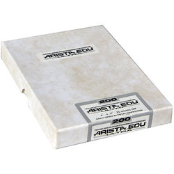 "Arista EDU Ultra 200 Black and White Negative Film (4 x 5"", 50 Sheets)"
