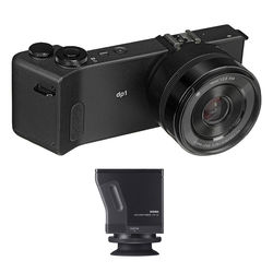 Sigma dp1 Quattro Digital Camera and LVF-01 Viewfinder Kit