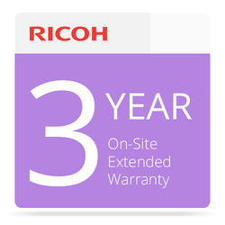 Ricoh Three-Year Extended On-Site Service Warranty for SP 6430DN Printer