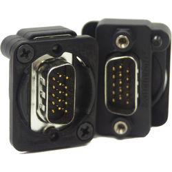 Switchcraft EH Series VGA Male to Male Connector (Black)