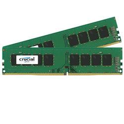Crucial 16GB DDR4 2133 MHz UDIMM Memory Kit (2 x 8GB)