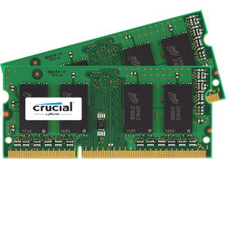 Crucial 16GB DDR3L 1866 MHz SO-DIMM Memory Kit (2 x 8GB, Mac)