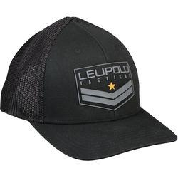 Leupold Tact Badge FlexFit Hat (Black, Small/Medium)