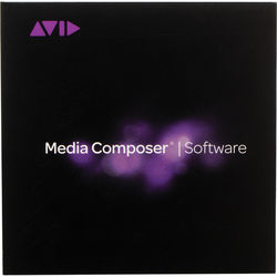 Avid Media Composer 8 (Standard, Perpetual, Direct Download)