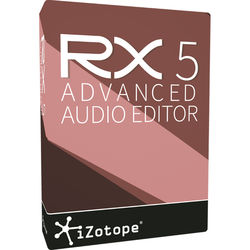 iZotope RX 5 Advanced - Audio Restoration and Enhancement Software (Educational Download)