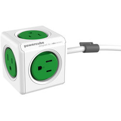 allocacoc PowerCube Extended (5', Green)