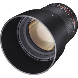 Samyang 85mm f/1.4 Aspherical IF Lens for Micro Four Thirds Mount Cameras