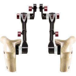 SHAPE Double Telescopic Wooden Handle Grips for ARRI Rosettes