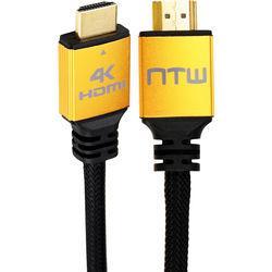 NTW Ultra HD PURE PRO High-Speed HDMI Cable with Ethernet (6')