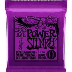 Ernie Ball Power Slinky Nickel Wound Electric Guitar Strings (6-String Set, .011 - .048)