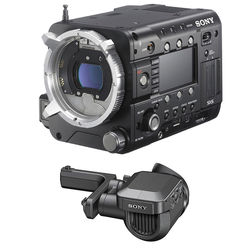"Sony PMW-F55 CineAlta 4K Digital Cinema Camera Kit with 0.7"" OLED Viewfinder"