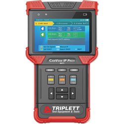 Triplett CamView IP Pro+ 8071 Camera Tester with DHCP Server