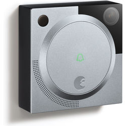 August 1.2MP Wireless Doorbell Cam (Silver)