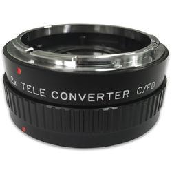 Bower 2x Manual Teleconverter for Canon FD