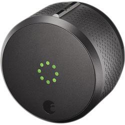 August Smart Lock with Apple HomeKit (Dark Gray)