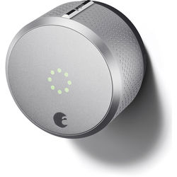 August Smart Lock with Apple HomeKit (Silver)
