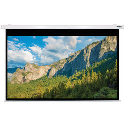 """HamiltonBuhl 120"""" Electric Projector Screen PC format Matte White"""
