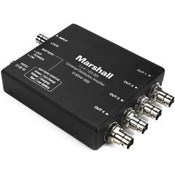 Marshall Electronics 12G-SDI 1 x 4 Universal Distribution Amplifier
