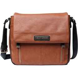 Kelly Moore Bag Luna Messenger Bag (Walnut)