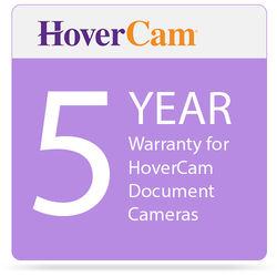 HoverCam 5YRW Extended 5-Year Warranty for HoverCam Document Cameras