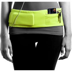 DBelt PRO Smartphone Fitness Belt (Small, Lime)