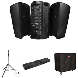 Fender Passport VENUE Kit with Speaker Stands and Carrying Bags
