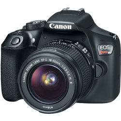 Canon EOS Rebel T6 DSLR Camera with 18-55mm Lens