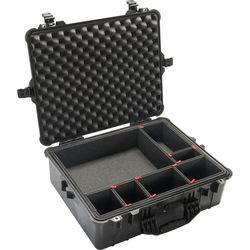 Pelican 1600TP Case with TrekPak Divider System (Black)