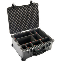 Pelican 1560TP Case with TrekPak Divider System (Black)