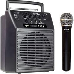 Nady WA-120BT VHF Portable Wireless PA Full-Range Bluetooth Speaker System (A: 171.905 MHz)